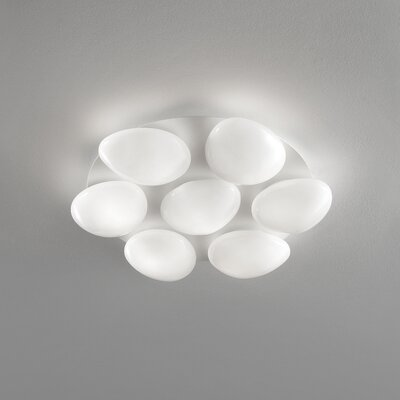 Masiero Sasso 7 Light Cluster Wall Sconce