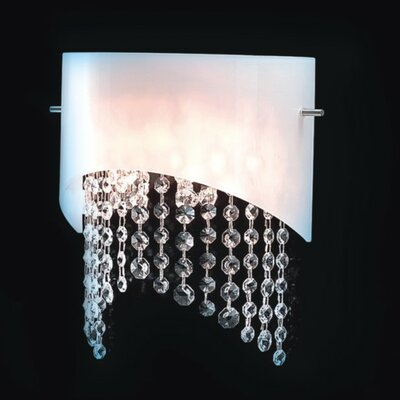 Masiero Nerosole 2 Light Wall Sconce