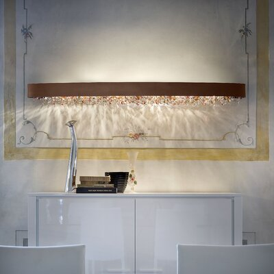 Masiero Ola 10 Light Wall Sconce