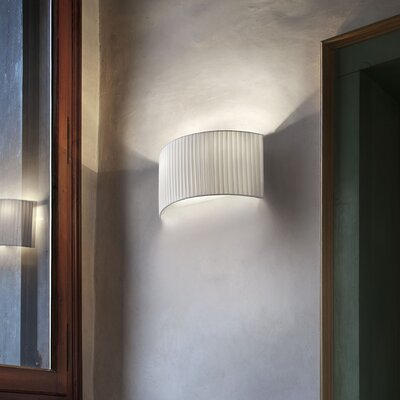 Masiero Tessuti Oval 2 Light Wall Sconce