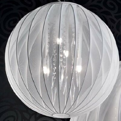 Masiero Tessuti Sphere 4 Light Medium Globe Pendant