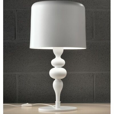 "Masiero Eva 21"" H Table Lamp with Drum Shade"