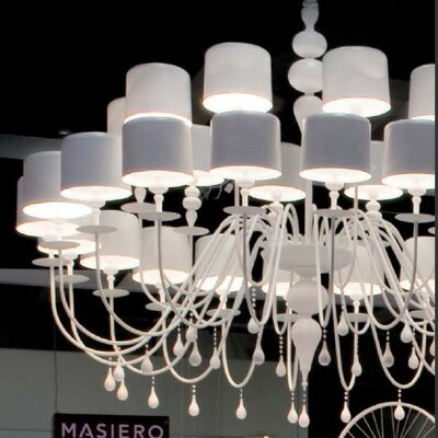 Masiero Eva 30 Light Chandelier