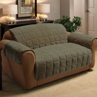 Innovative Textile Solutions Plush Loveseat Cover