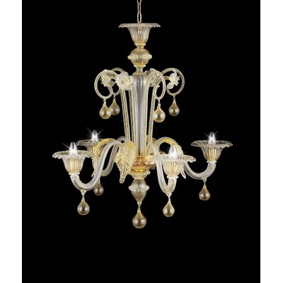 Bartolomeo 4 Light Chandelier