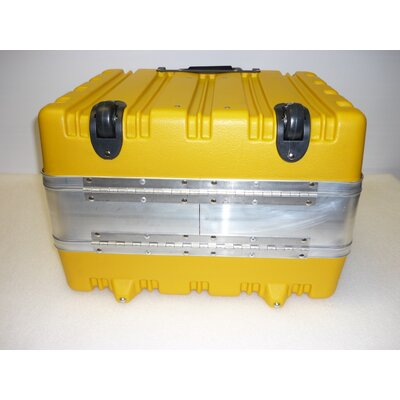 CH Ellis Rolling Tool Control Tool Case in Yellow