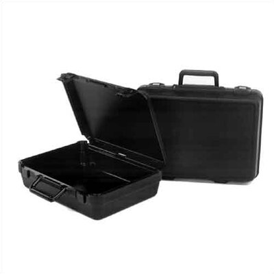 "CH Ellis Blow-Molded Case:  14.3"" H x 21.3"" W x 7"" D (inside)"