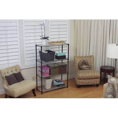 Trinity 4-Tier NSF Indoor Wire Shelving Rack