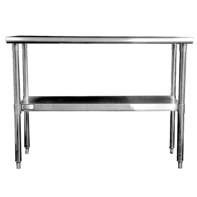 "Trinity EcoStorage™ 48"" Stainless Steel Table"