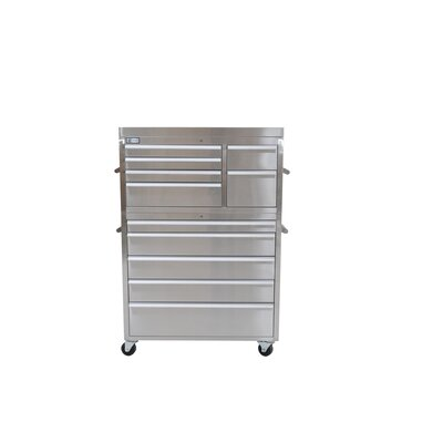 Trinity 41&quot; Stainless Steel Tool Chest