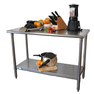 Trinity EcoStorage Stainless Steel Top Workbench