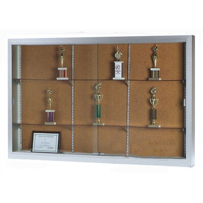 AARCO Universal Display Case with Sliding Doors