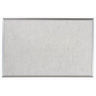 AARCO Burlap Weave Vinyl Bulletin Board