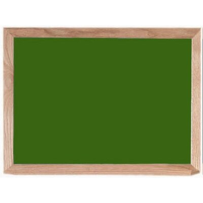 AARCO Porcelain Steel Chalk Board