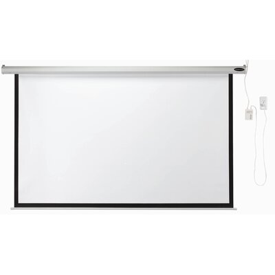 AARCO Matte White Electric Projection Screen