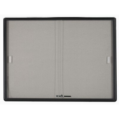 AARCO Enclosed Radius Design Bulletin Board