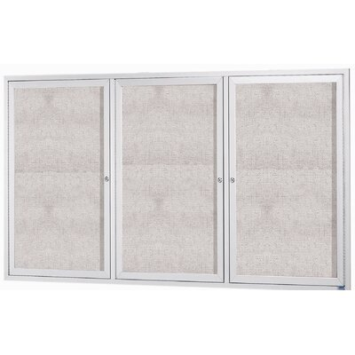AARCO Illuminated Enclosed Bulletin Board