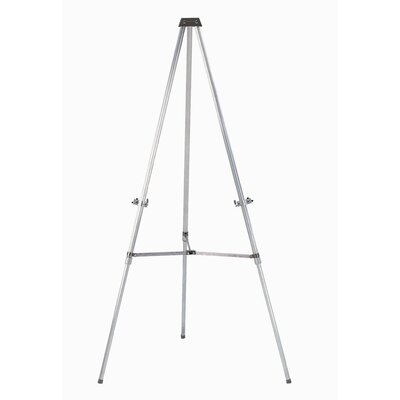 AARCO Aluminum Telescopic Display Easel
