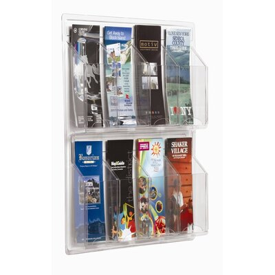 AARCO Clear-Vu Pamphlet Display