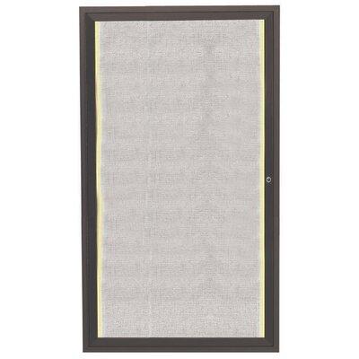AARCO Enclosed 3' x 2' Bulletin Board