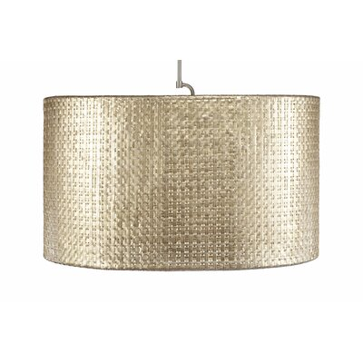 Selene 1 Light Oval Drum Pendant