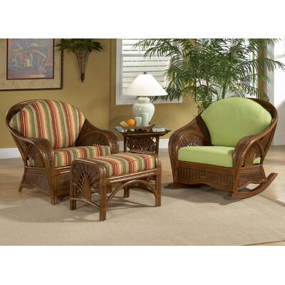 Wildon Home ® Palm Cove Chair and Ottoman