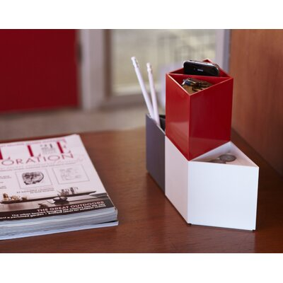 AMAC Rhombin 3-Piece Assorted Desktop Organizer