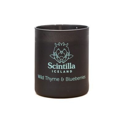 Wild Thyme and Blueberries Scented Candle