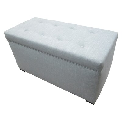Sole Designs Tufted Cotton Storage Ottoman