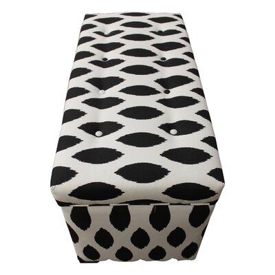 Sole Designs Angela Upholstered Storage Bench
