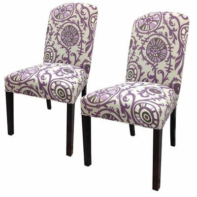 Sole Designs Passion Cotton Parson Chair (Set of 2)