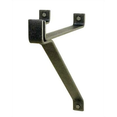 "Enclume 12"" Hammered Steel Wall Bracket (Set of 2)"
