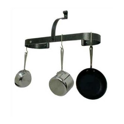 Oval Wall Mounted Pot Rack