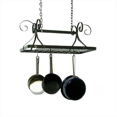 Enclume Decor Rectangle Hanging Pot Rack