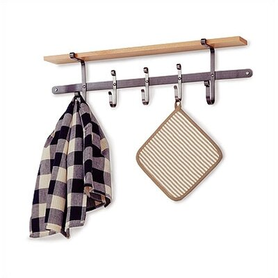 Enclume Premier Apron Towel Wall Mounted Pot Rack