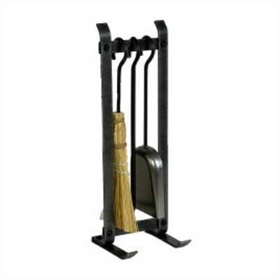 3 Piece Steel Fireplace Tool Set