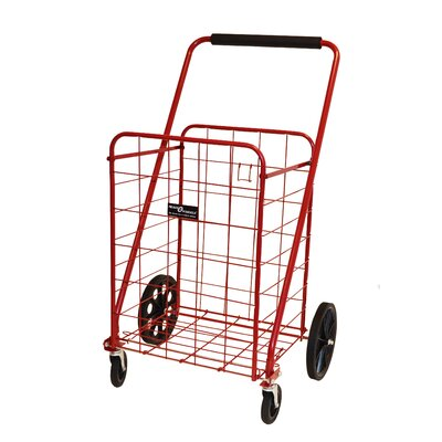 Narita Sunny Jumbo-A Promo Shopping Cart, Red