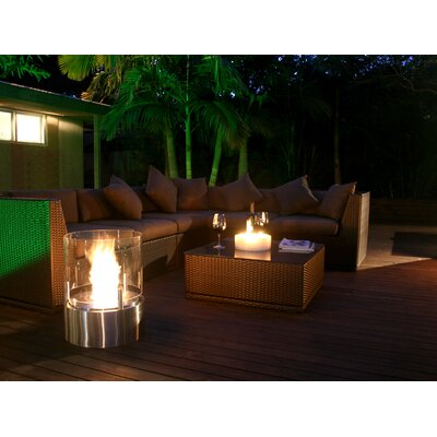 EcoSmart Fire Cyl Table Top Fireplace