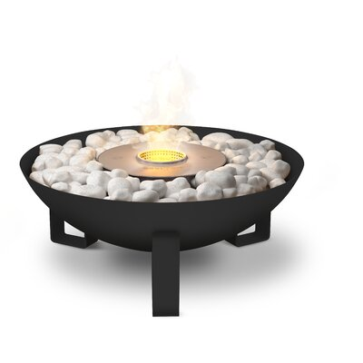 Dish Fireplace