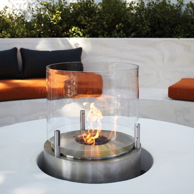 Cyl Table Top Fireplace