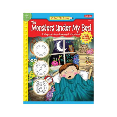Walter Foster Watch Me Draw The Monsters Under My Bed