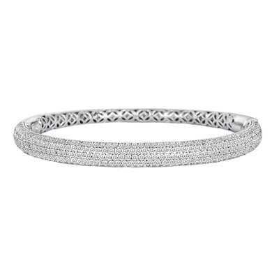 Diamonair Cubic Zirconia Bangle Bracelet