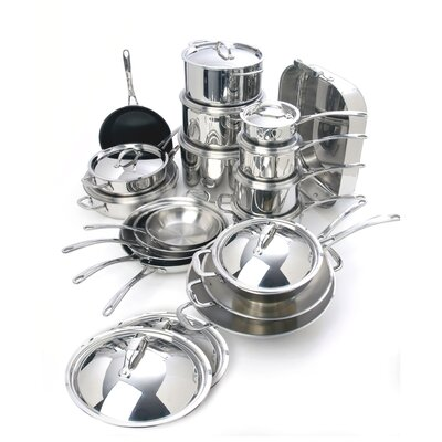 Cuisinox Elite 30-Piece Cookware Set