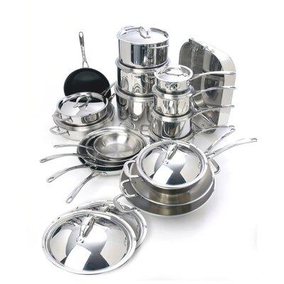 Cuisinox Elite 30-Piece Cookware Set