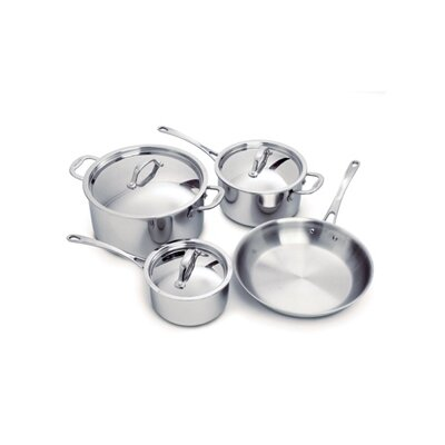 Cuisinox Elite 3-Ply Stainless Steel 7-Piece Cookware Set