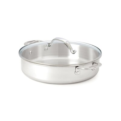 Cuisinox Elite 5.6 Quart Sauce Pan with Glass Lid