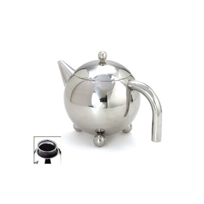 Cuisinox 12 Oz Footed Teapot with Infuser