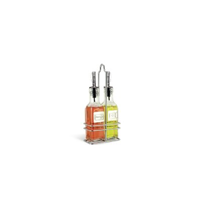 Cuisinox 6 Oz Oil and Vinegar Bottle with Caddy