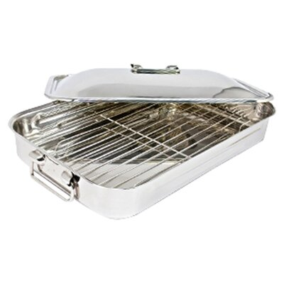 "<strong>Cuisinox</strong> 16"" Covered Roaster with Rack"