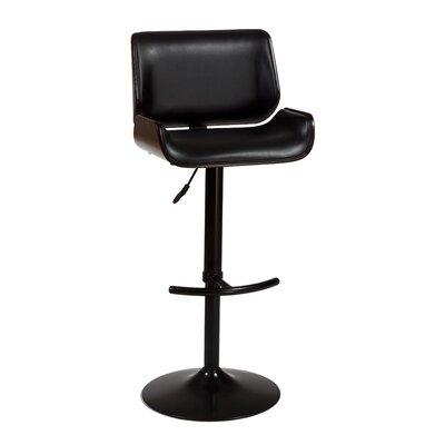 "Hillsdale Furniture Radcliff 25"" Adjustable Swivel Bar Stool with Cushion"